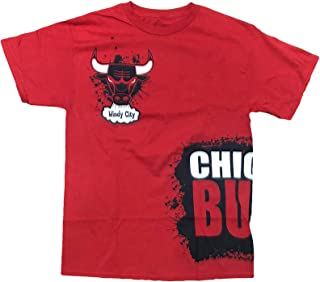 Chicago Bulls Windy City Adult T-Shirt Red