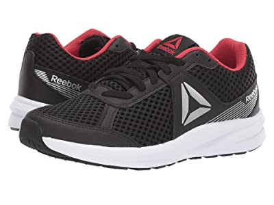 Reebok Kids Endless Road (Big Kid) (Black/Grey/Red/White/Silver) Boys Shoes