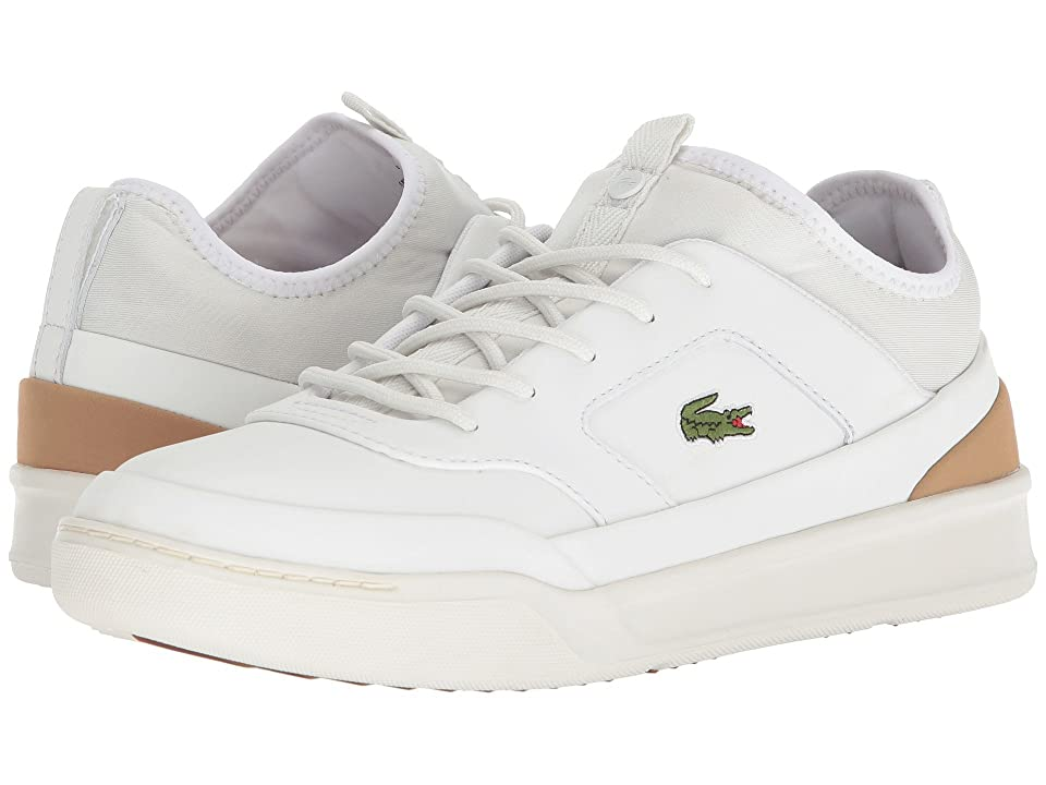 Lacoste Explorateur Crftsp 118 1 (White/Light Tan) Men