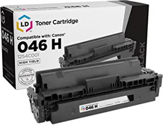 LD Compatible Toner Cartridge Replacement for Canon 046H 1254C001 High Yield (Black)