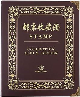 Stockbook Stamp,stamp Stock Books,Album Collectors Album Stockbook Stamp Stock Book Wine Red Cover Page Stockbook Stamp Al...
