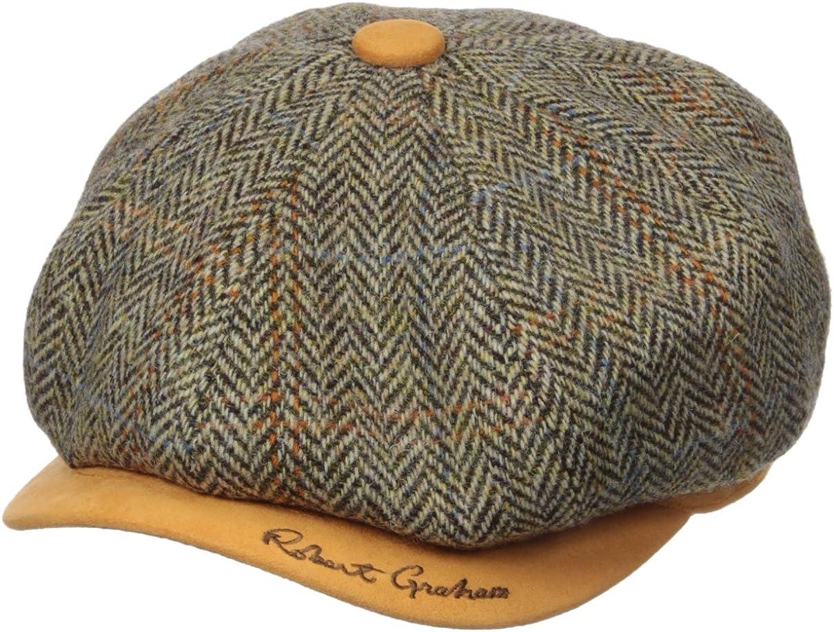 Robert Super sale period limited Graham Headwear Oaknewsboy Royal Men's 35% OFF