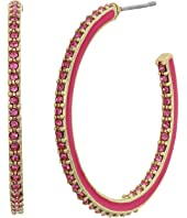 Kate Spade New York - Shine On Enamel Hoops