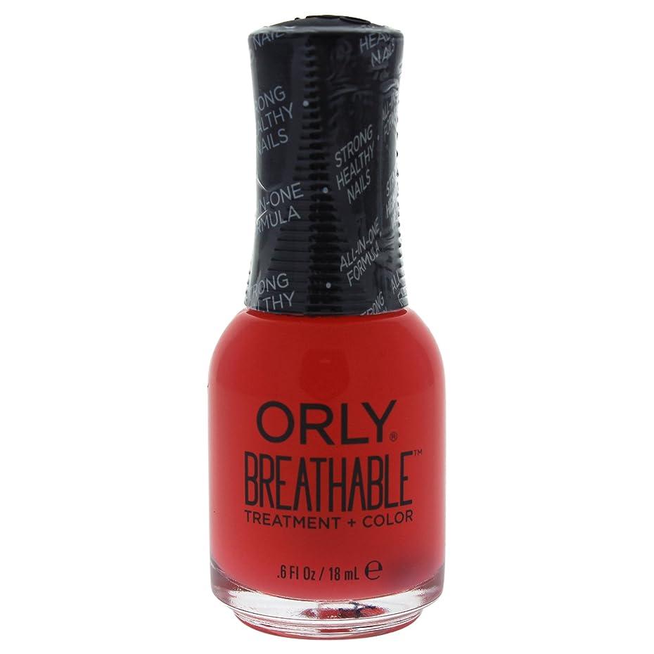 出くわす一般ラオス人Orly Breathable Treatment + Color Nail Lacquer - Sweet Serenity - 0.6oz / 18ml