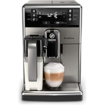 Saeco GranBaristo HD8975/01 - Cafetera (Independiente, Máquina espresso, 1,7 L, Molinillo integrado, 1900 W, Antracita, Acero inoxidable): Amazon.es: Hogar