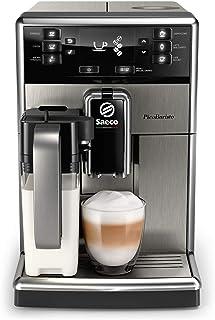 Philips Saeco Espressomachine PicoBaristo - 10 Koffievariëteiten - Keramische molens - Verwijderbare koffiezetunit - AquaC...