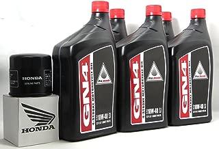 2005 Honda St1300P Oil Change Kit With Shaft Drive Fluid