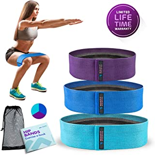 MAXFIT Athletica Hip Resistance Bands | Booty Circles to...