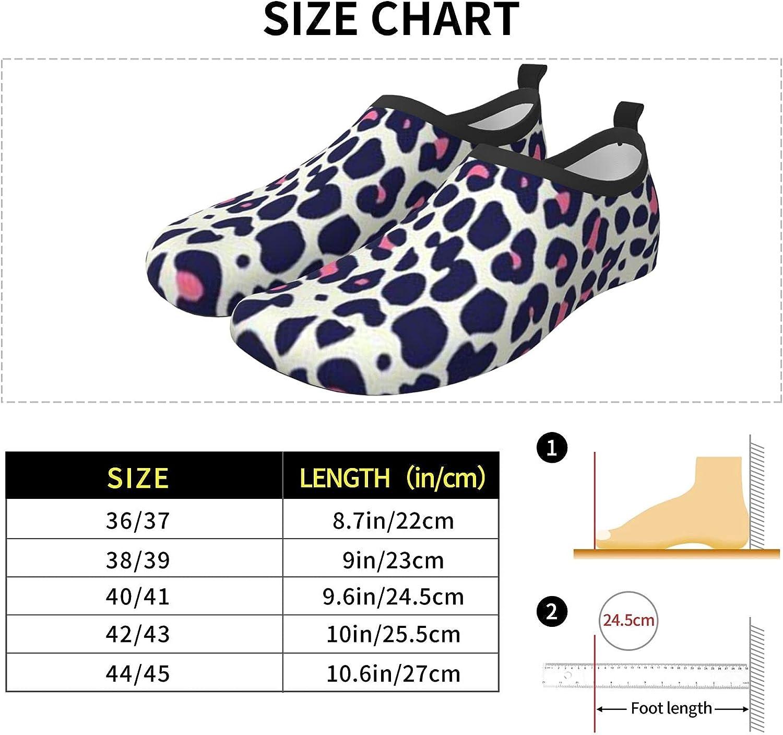 JZDACH Water Shoes Quick Dry Swim Aqua Barefoot Socks for Women Men