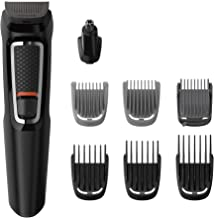 Aparador de Pelos, Philips, Multigroom MG3731/15, Preto/