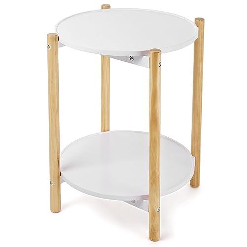 Tavolino Rotondo Legno: Amazon.it