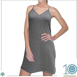 5a2e5e78336 Cottonique Women s Hypoallergenic Full Slip Made from 100% Organic Cotton