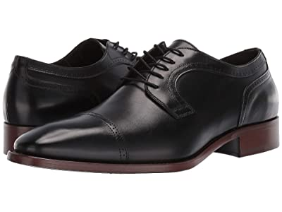 J&M Collection Cormac Cap Toe (Black) Men