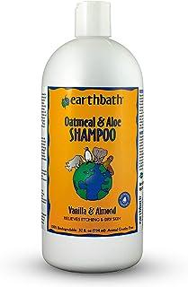 Earthbath PA2Q Oatmeal & Aloe Shampoo, Vanilla Almond Scent 32 oz