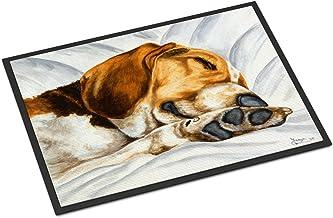 "Caroline's Treasures AMB1174MAT Airedale Terrier Momma's Quilt Indoor or Outdoor Mat, 18"" x 27"", Multicolor, Multicolor, 1..."