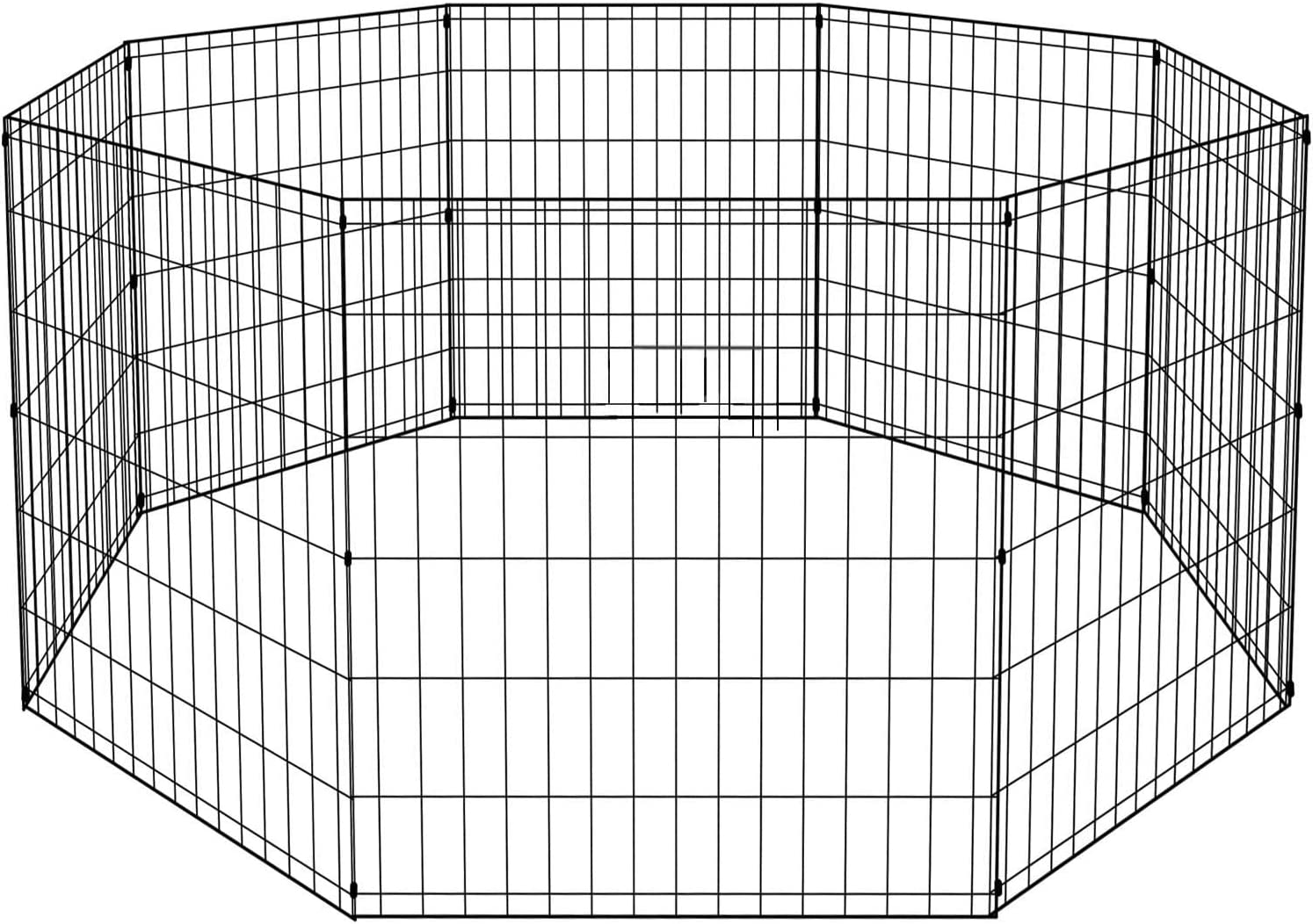 Tffnew Pet Dog Playpen 8 Special Campaign Panel Crate Outdoor Kennel F Indoor price