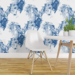 Equestrian Toile Wallpaper