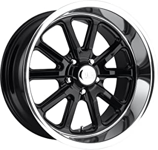 US Mags Rambler 20x8 Black Wheel / Rim 5x5 with a 1mm Offset and a 78.1 Hub Bore. Partnumber U12120807345
