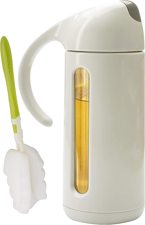 Olive Oil 5 ☆ very popular Dispenser Bottle for Vinegar Rare Sauce Kitchen-Glass Condi