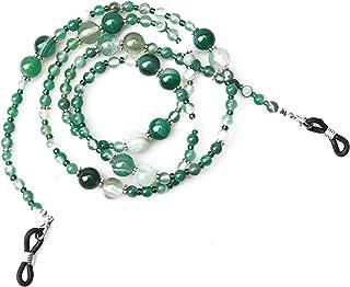 Sopaila Colorful Beaded Turquoise Eyeglass Chain Sunglass Holder Glasses Strap Lanyards