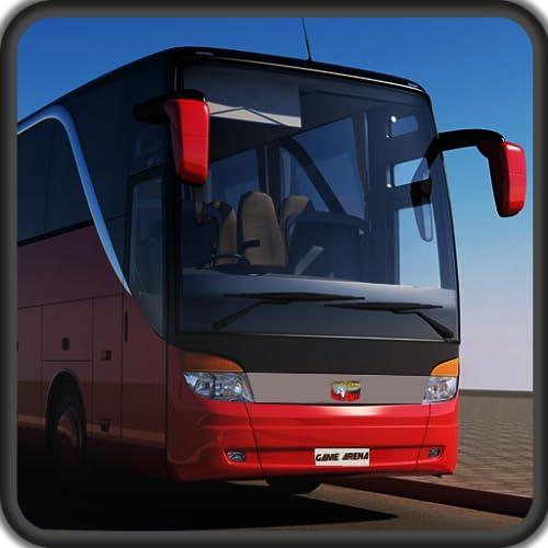 Coach Busfahrer Hill Bus Simulator 3D Schule Transport Simulation Bus Spiele