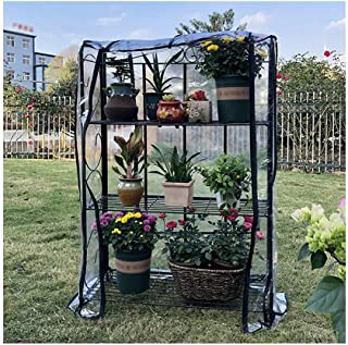 Gzhenh Greenhouses For Outdoor Walk-in Green House With Windows Multiple Shelves Load Bearing Rainproof Sun Protection Pla...