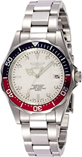 Men's 8933 Pro Diver Collection Silver-Tone Watch