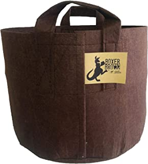 BEST Root Pouch (15 GALLON) Best Aeration Pot and Grow Bags from Maui Mike's. Made of Thicker Hemp Material with Sewn Handles for Easy Moving. Grow Healthier Tomatoes and Herbs. Eco Friendly.