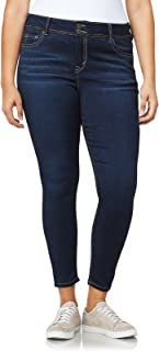 WallFlower Womens Plus Size Ultra Skinny Jeans Jeans - Blue