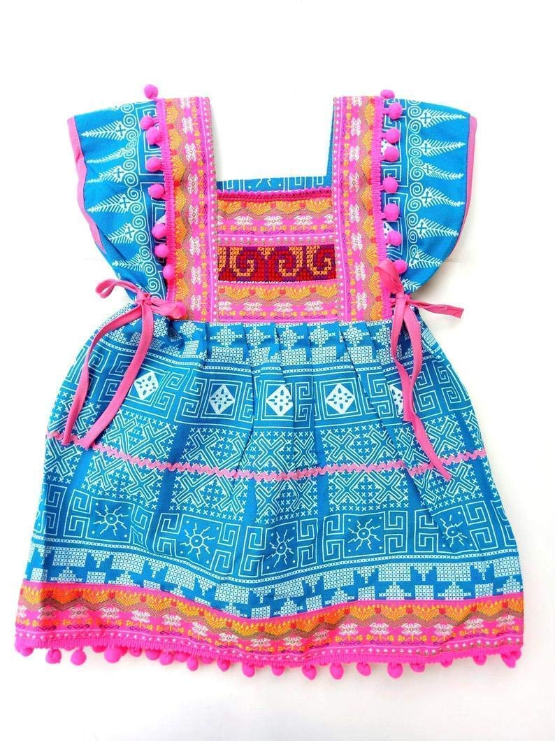 Baby Blue Pink Dress Gypsy San Diego Mall Toddler Year-end annual account