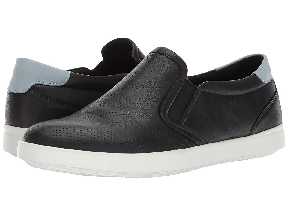 ECCO Aimee Perforated Slip-On (Black Arona) Women