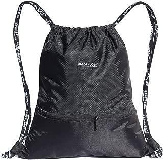ESVAN Proof Gymbag Large Drawstring Backpack Gymsack...