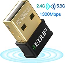 EDUP USB WiFi Adapter for Laptop PC AC 1300Mbps Nano Wireless Network Card Wi-Fi Dongle..