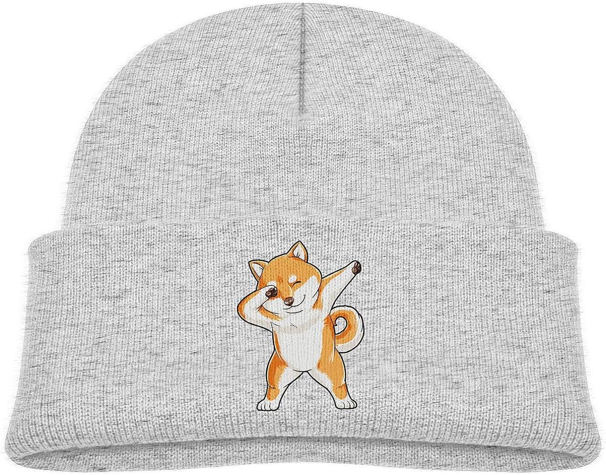 Dabbing Doge Shiba Inu 2021 new Kid Winter Boy Hat Beanie Girl Knit Warm Kansas City Mall