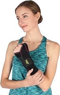 Férula de mano SOLES – Equipada para ofrecer apoyo debido a túnel carpiano, tendinitis o para recuperación de una lesión - Protección del pulgar - Ajustable, diseño cómodo - una talla para todos.