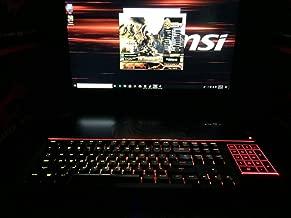 MSI GT83 TITAN-027 Full HD Extreme Gaming Laptop i7-8850H (6 cores) GTX 1080 [SLI] 16G, 32GB 1TB SSD + 1TB HDD, 18.4