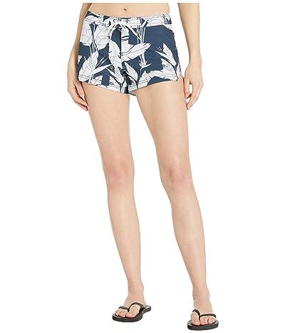 Roxy To Dye 2 Boardshorts (Mood Indigo Flying Flowers) Women