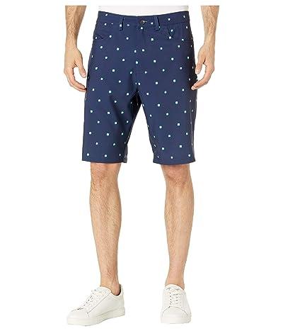 Straight Down Declan Shamrock Shorts (Navy) Men