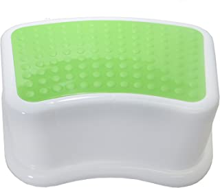 Kids Best Friend Kids Green Step Stool, Take It Along in Bedroom, Kitchen, Bathroom and Living Room. Great for Potty Training And Toy Room Gift