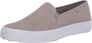 حذاء رياضي من الجلد السويدي للسيدات من Keds، لون رمادي، مقاس 6. 5 M US