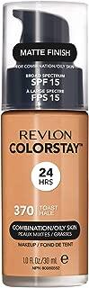 Revlon ColorStay Liquid Foundation For Combination/oily Skin, SPF 15 Toast, 1 Fl Oz