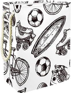 Vockgeng Patins à roulettes de Football Accueil Organisation Panier de Rangement imperméable Pliable de Jouets de Jouets d...