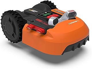 WORX WR900E Robot cortacésped, Naranja, bis zu 500m2 + Kollisionssensor ACS