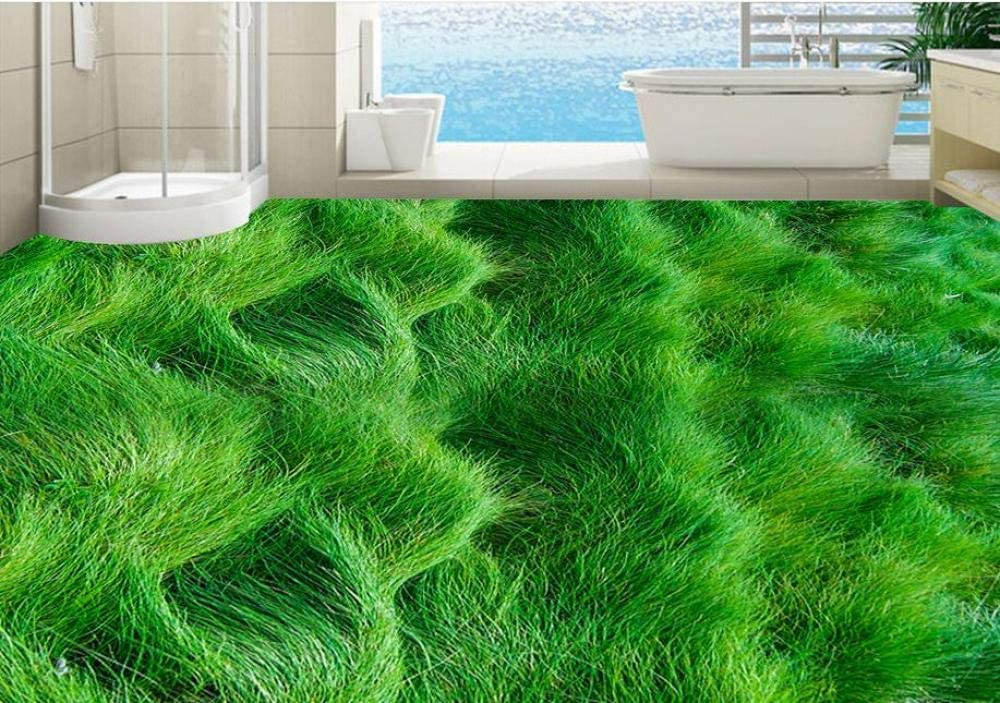 3D Floor Mural Modern Geometric Custom Wallp Ranking TOP19 Grass self-Adhesive At the price