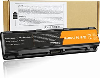 Fancy Buying Replace for Toshiba Satellite C75D C75D-A C75D-A7102 C75D-A7130 New Battery Ship from USA 5200mAh 6 Cell