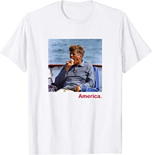 JFK Ice Cream America 4th of July T-Shirt
