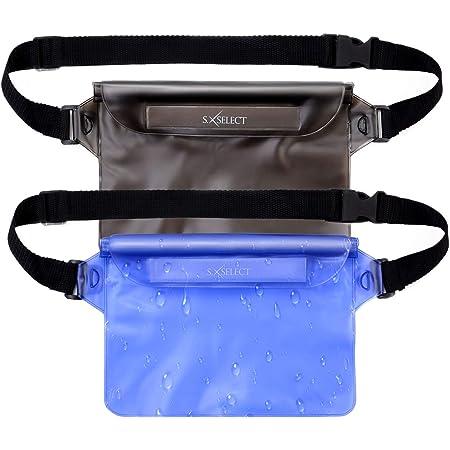 防水ポーチ ウェストポーチ 防水バッグ 防水ケース 携帯 防水ケース 2個セット【S.SELECT】