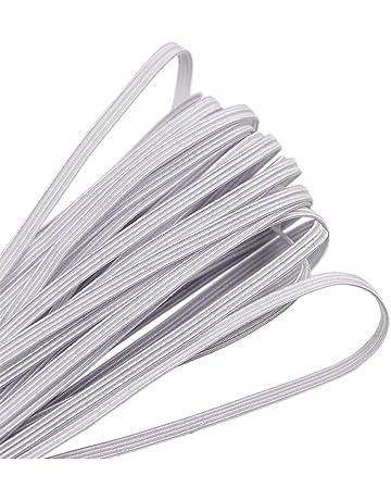 30m cinta elástica alrededor 3mm lavado elástica goma gummilitze elasticidad cuerda