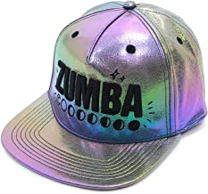 ZUMBA ズンバ ユニセックス シャイニー スナップバック キャップ IRIDESCENT