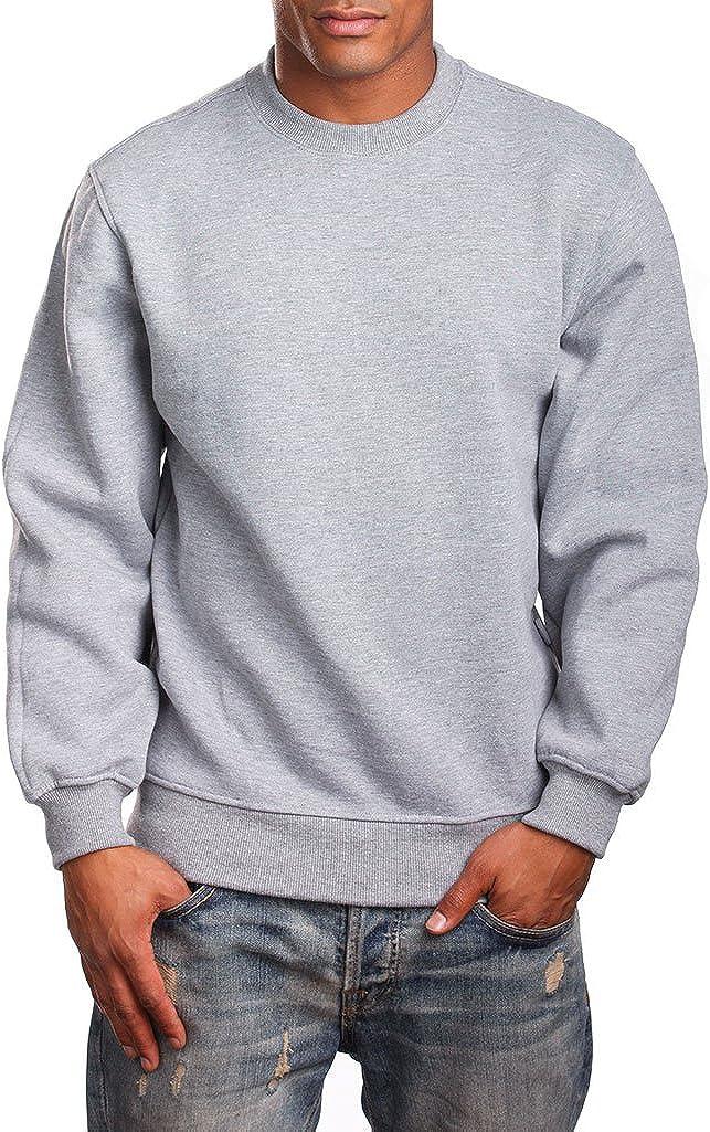 PRO 5 Mens Heavy Weight Fleece Crewneck